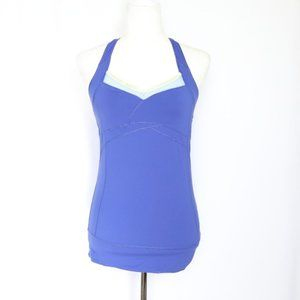 Alo Yoga Blue Athletic Tank Top  size XS